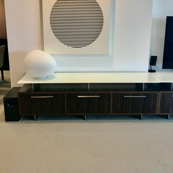 Custom Three Drawer Console by James Salmond