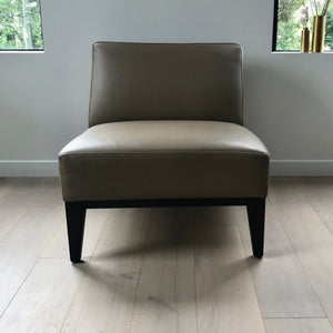 Leather Slipper Chair by Fanuli (2 available)