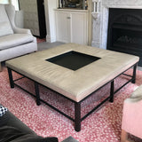 Porter Ottoman by Bill Sofield for Baker
