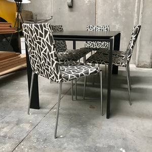 Set of FOUR Alma Dining Chairs by Roberto Barbieri for B&B Italia (2 sets available)