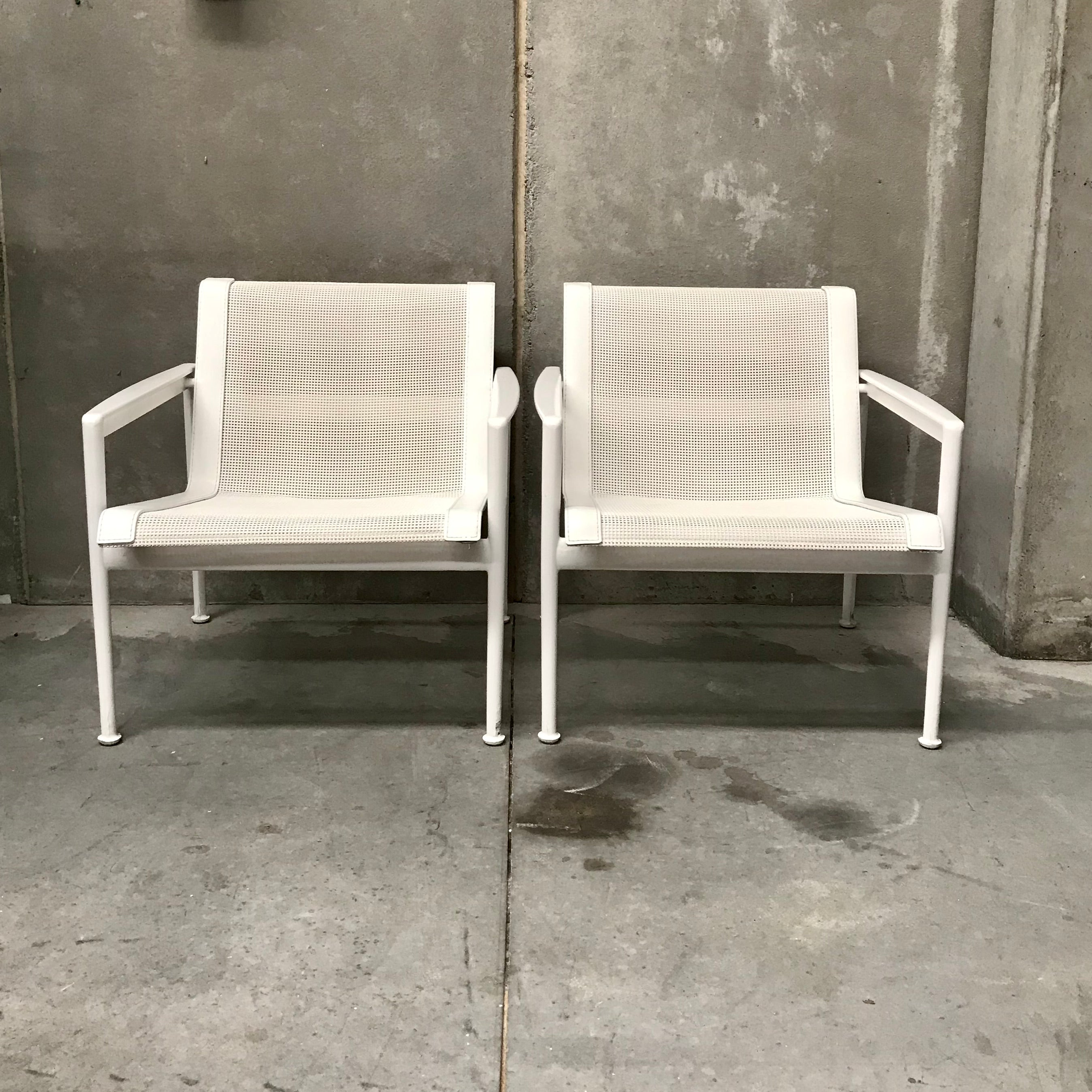 PAIR of 1966 Collection Lounge Chairs by Richard Schultz for B&B Italia
