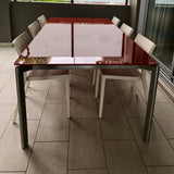 Glass Top Dining Table through Fanuli