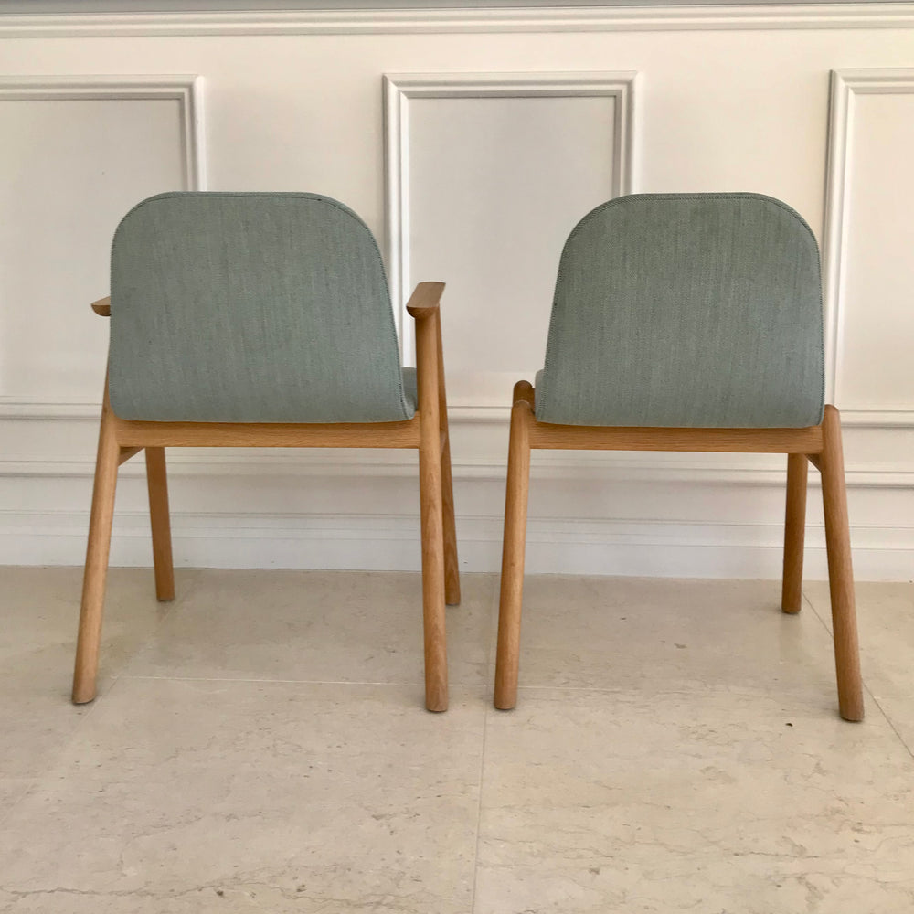 Set of EIGHT Bay Dining Chairs by Jardan