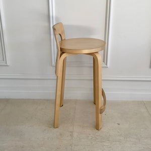 K65 Stool in Birch by Artek through Anibou (6 available)