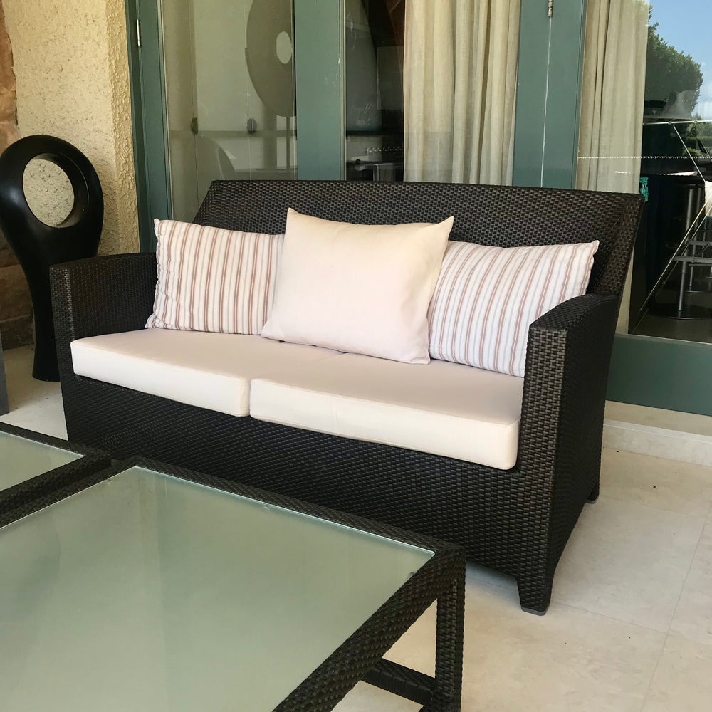 Barcelona Two Seat Sofa by Dedon (2 available)