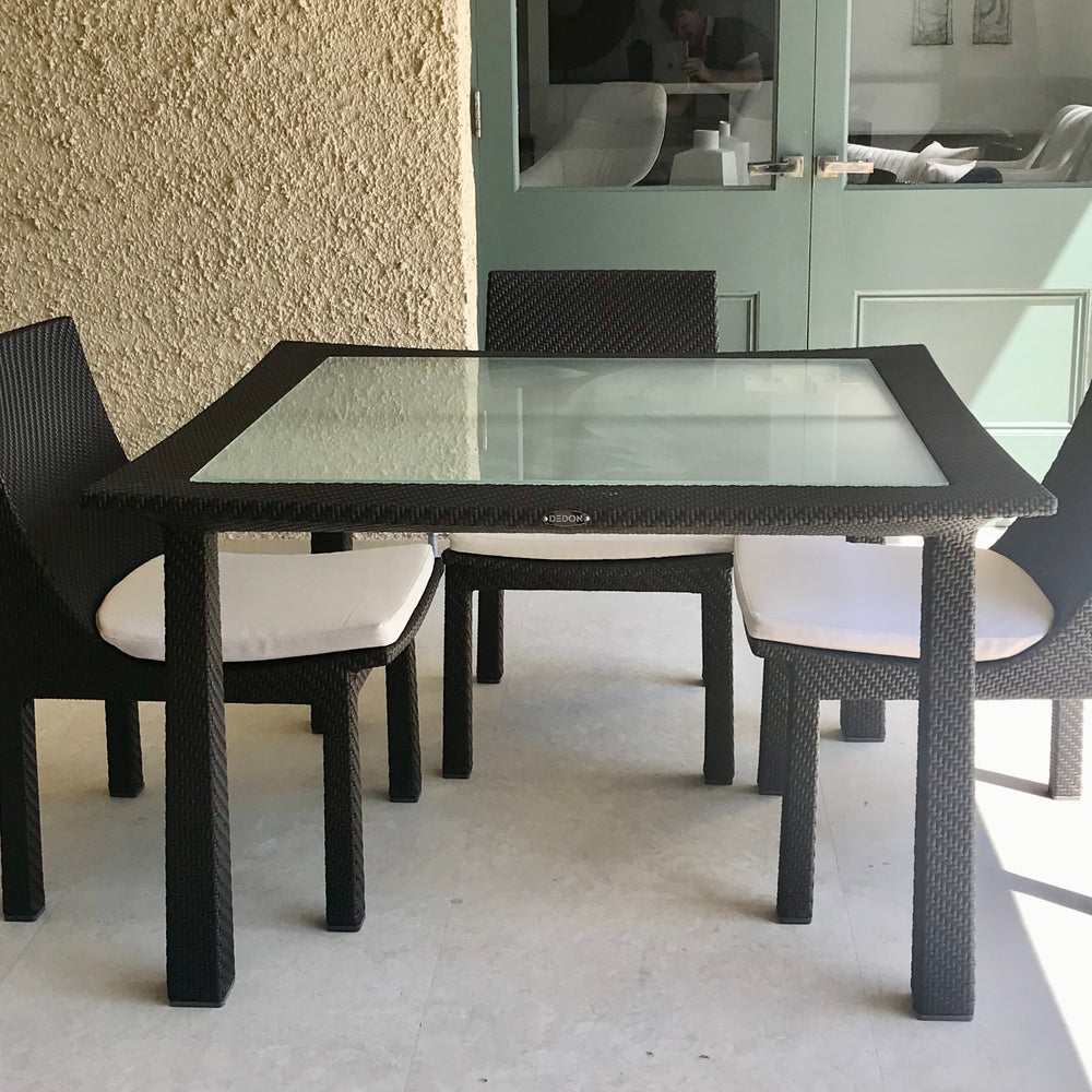 Spa Square Dining Table by Dedon