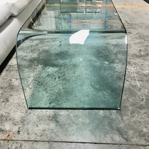 Ponte Curved Glass Coffee Table by Fiam Italia
