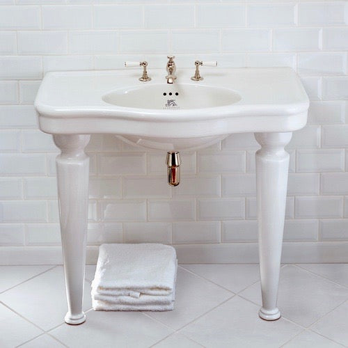 La Chapelle Console Basin by Lefroy Brooks