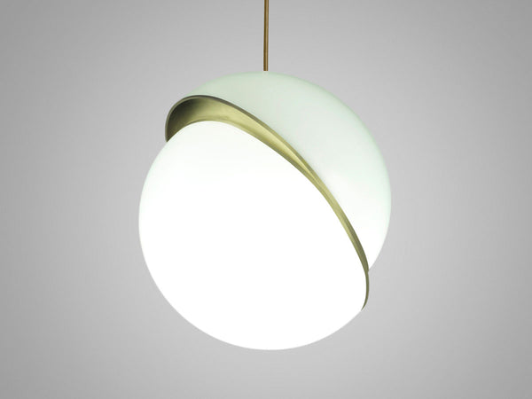 Large Crescent Pendant by English Designer Lee Broom