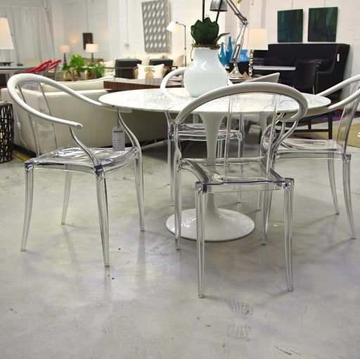 Set Of SIX Mi Ming Armchair by Philippe Starck for xO (White)