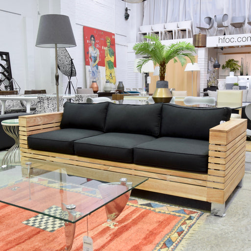 Three Seat Timber Frame Sofa