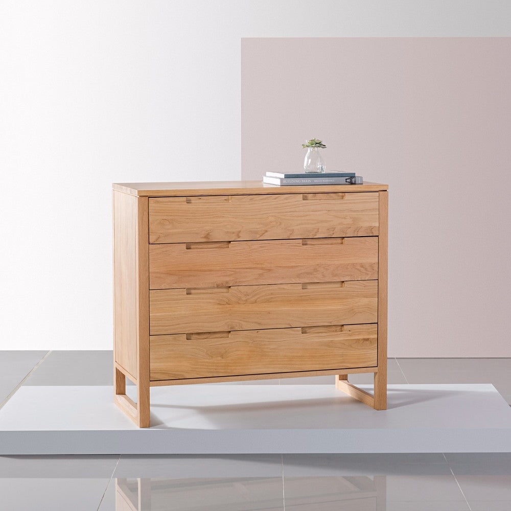 Bruno Four Drawer Chest by Icon By Design