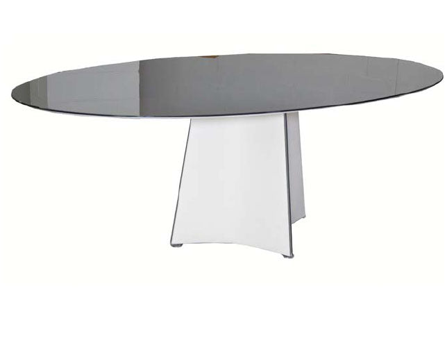 TENT Oval Dining Table by designer Rodolfo Dordoni for Matteo Grassi