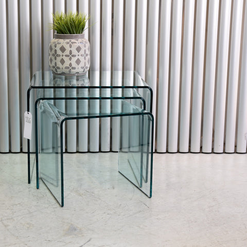 Rialto Tris Nesting tables by Fiam Italia