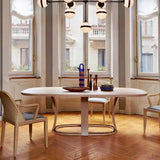 Grace Extension Dining Table by Potocco through Cosh