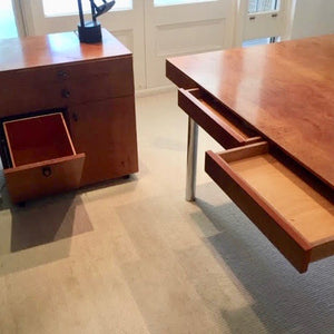 Load image into Gallery viewer, Custom Desk & Credenza by Marsh Freedman & Associates