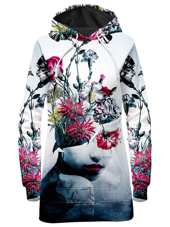 Riza Peker - Spirit of Flowers Hoodie Dress