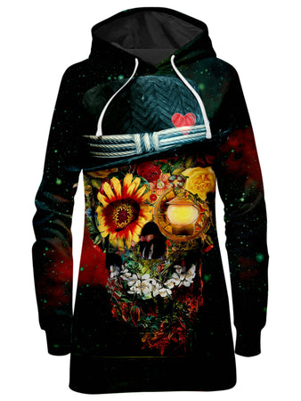 Riza Peker - Skull Lover Hoodie Dress