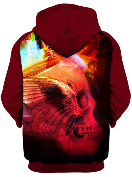 Shawn Hocking - Bird of Pray Unisex Zip-Up Hoodie