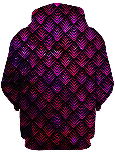 Noctum X Truth - Galactic Dragon Scale Pink Unisex Hoodie
