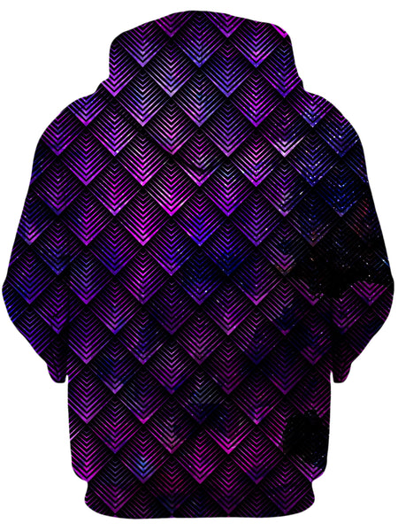 Noctum X Truth - Galactic Dragon Scale Purple Unisex Hoodie