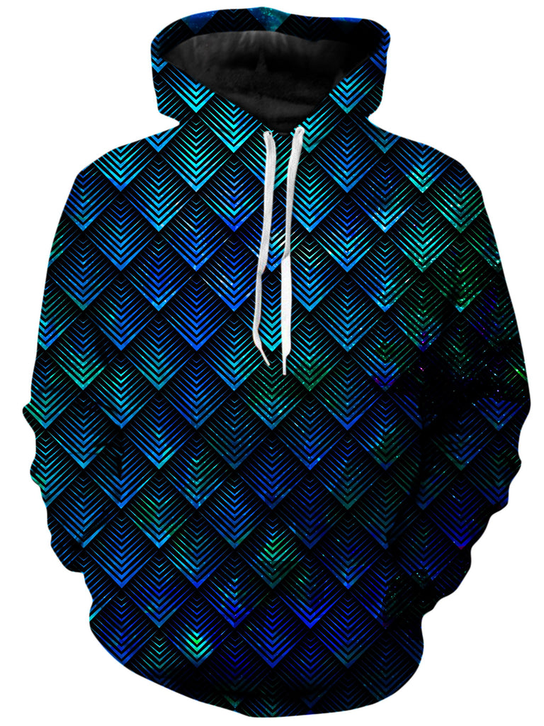 Noctum X Truth - Galactic Dragon Scale Teal Unisex Hoodie