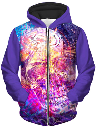 Shawn Hocking - 22135614 Unisex Zip-Up Hoodie