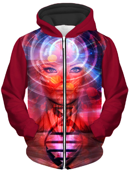 Shawn Hocking - Asscension Unisex Zip-Up Hoodie