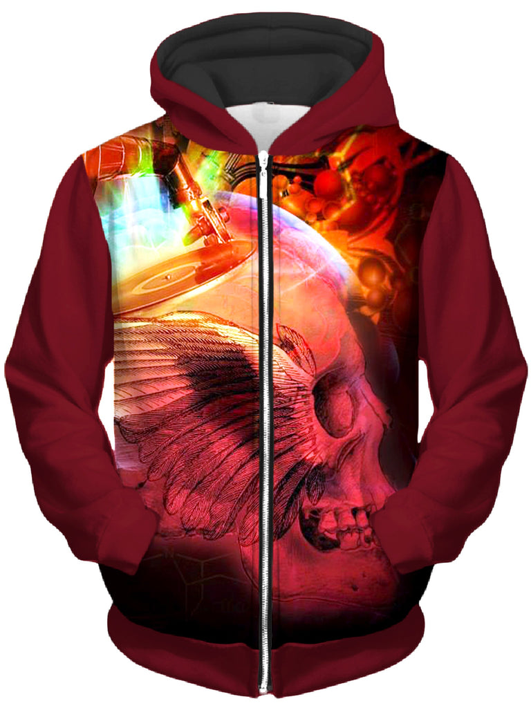 Bird of Pray Unisex Zip-Up Hoodie, Shawn Hocking, T6 - Epic Hoodie