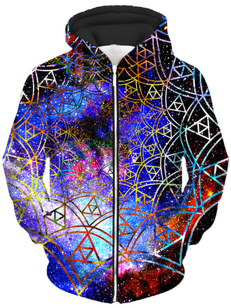 Noctum X Truth - Fractal Unisex Zip-Up Hoodie