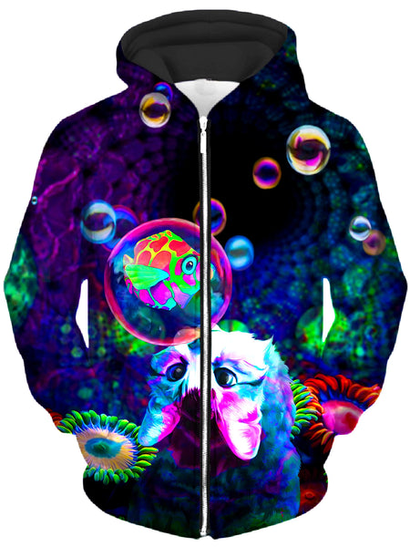Heather McNeil - Upside Down Unisex Zip-Up Hoodie