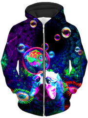 Upside Down Unisex Zip-Up Hoodie, Heather McNeil, T6 - Epic Hoodie