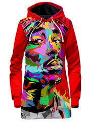 All Eyez On Me Drome Hoodie Dress, Technodrome, T6 - Epic Hoodie