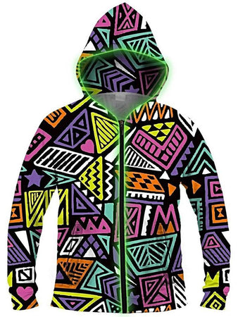 Light Up Hoodies - All That & A Bag of Chips Light-Up Hoodie