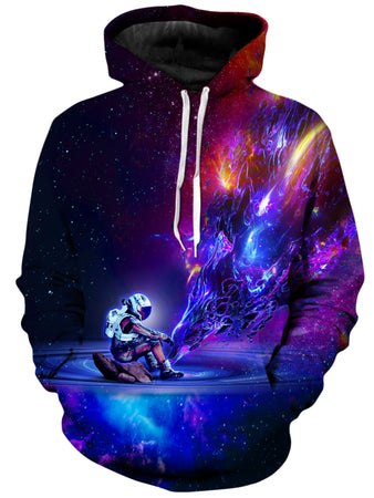 On Cue Apparel - Astronaut Texture Hoodie
