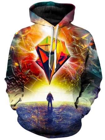 On Cue Apparel - Astronauts Prism Hoodie