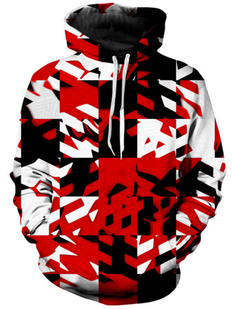 Big Tex Funkadelic - Red Digital Unisex Hoodie