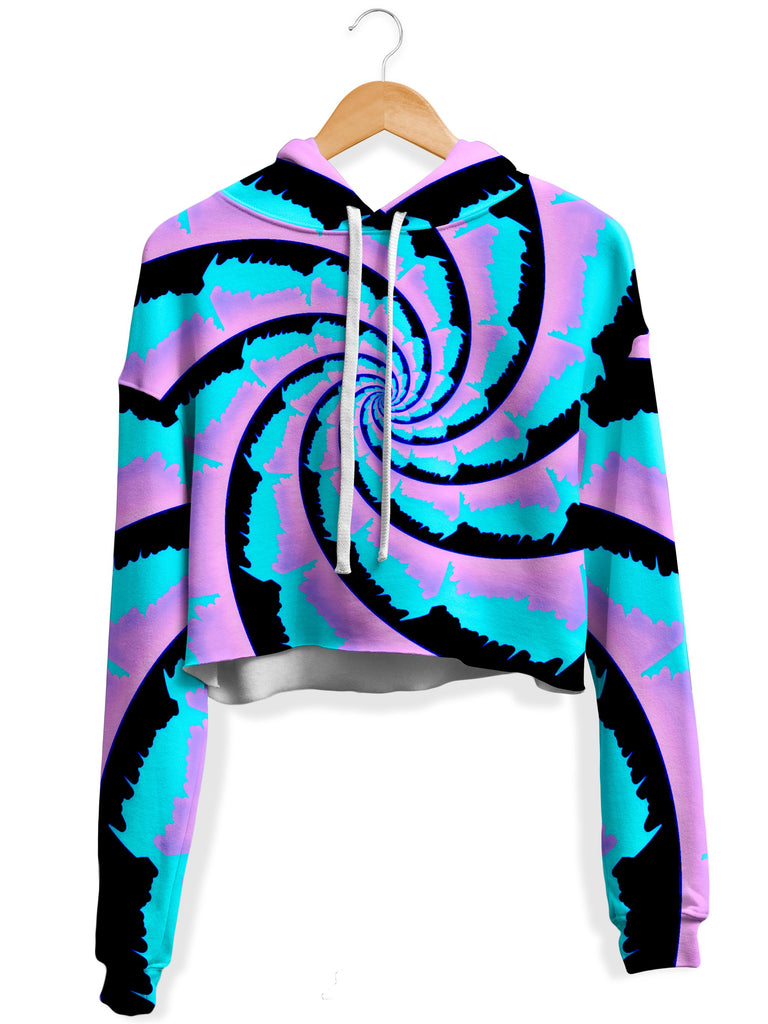 Big Tex Funkadelic - Cotton Spinzone Fleece Crop Hoodie