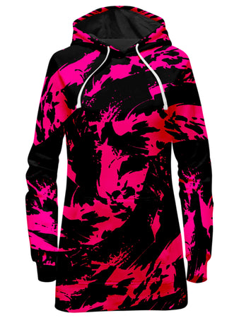 Big Tex Funkadelic - Pink Swirl Hoodie Dress