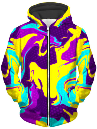Big Tex Funkadelic - Psychic Bliss Unisex Zip-Up Hoodie