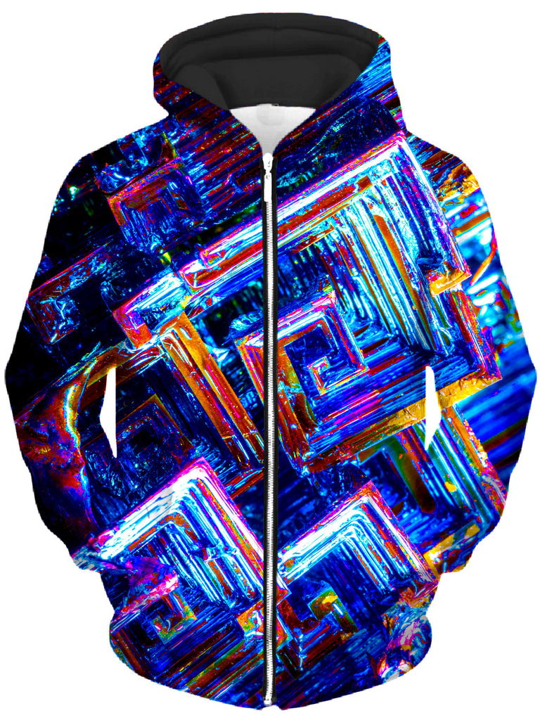 Noctum X Truth - Bismuth Unisex Zip-Up Hoodie