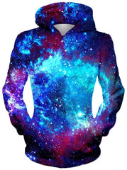 Blue Galaxy Hoodie, Different Type, On Cue Apparel - Epic Hoodie