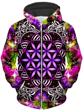 BrizBazaar - Oracle of Life Unisex Zip-Up Hoodie