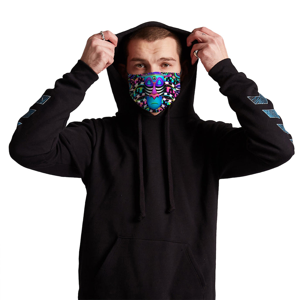 Tripfiki Anti-Germ & Pollution Mask With (4) PM 2.5 Carbon Filters