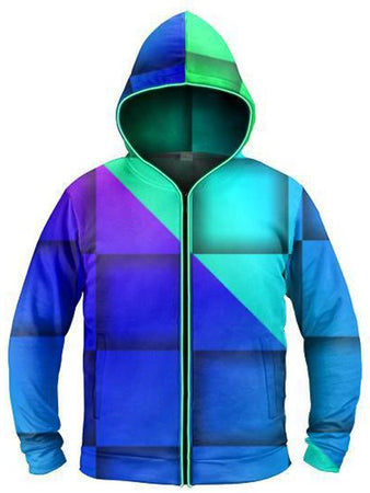 Light Up Hoodies - Check Mate Light-Up Hoodie