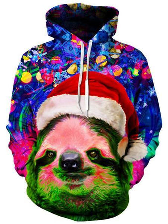 Heather McNeil - Christmas Sloth Unisex Hoodie