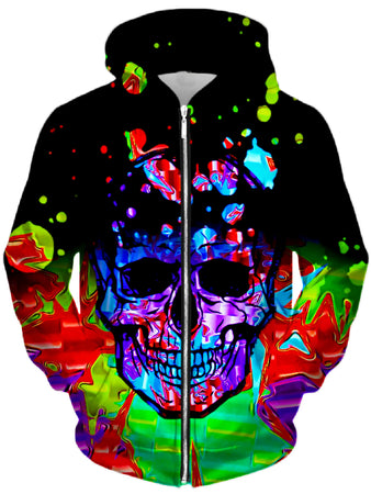 Big Tex Funkadelic - Chromatic Unisex Zip-Up Hoodie