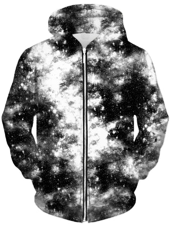 Set 4 Lyfe - Deep Dark Galaxy Unisex Zip-Up Hoodie