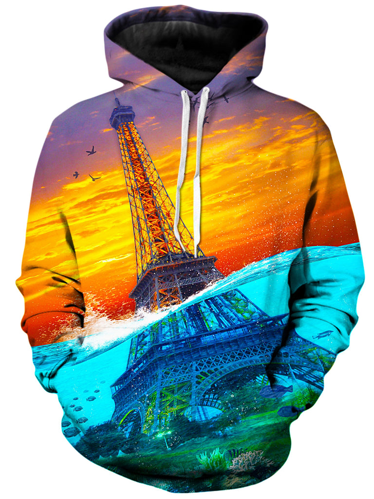 On Cue Apparel - Eiffel Underwater Hoodie
