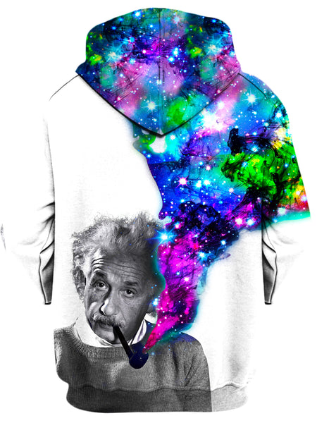 On Cue Apparel - Einstein Puffs Hoodie